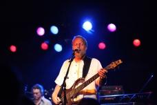 Russ Schutz, bass and vocals